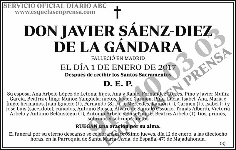 Javier Sáenz-Diez de la Gándara